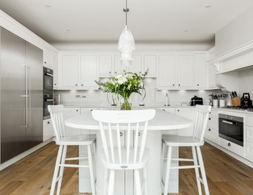 Hamptons style interior in Poole, Dorset
