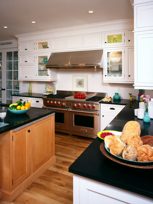 Two Tone Kitchen Home Design Ideas Renovations Photos