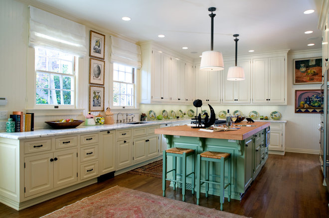 Traditional Kitchen by Timothy Corrigan, Inc.