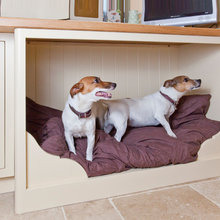 built-in dogbed
