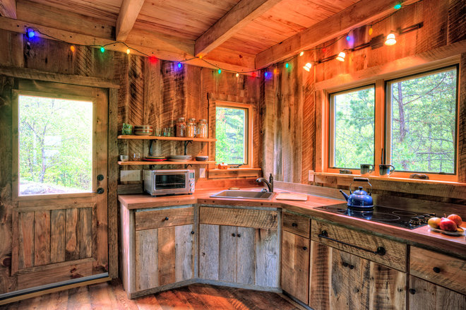 Rustic Kitchen by William Britten