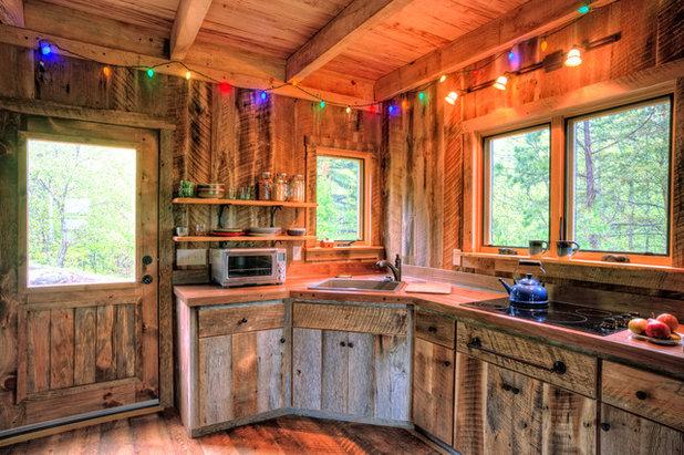 Rustic Kitchen by William Britten