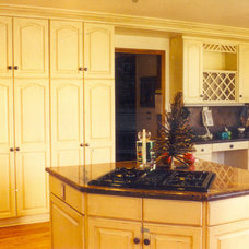 Traditional Kitchen by Stephen M. DeOrio