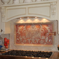 Mediterranean Kitchen by MacMurrayDesigns