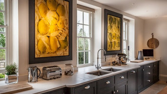 Hand Painted Kitchen by Kevin Mapstone