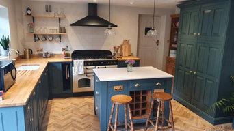 Hand Painted Kitchen - Martock, Somerset