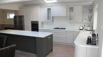 Hand Painted, Shaker Style, Kitchen.