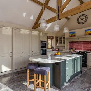 Handbuilt kitchen in Hertfordshire by John Ladbury