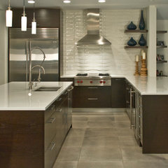 contemporary kitchen by B•D•G Design Group