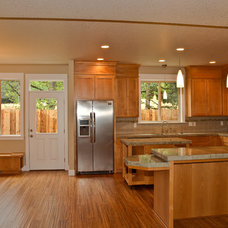 Traditional Kitchen by BC Custom Construction