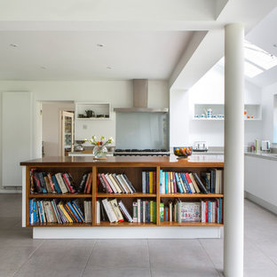 Handleless kitchen in Buckinghamshire