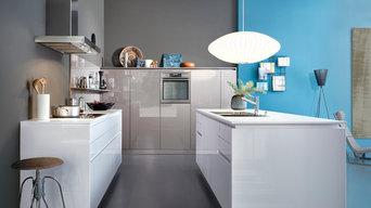Handleless Kitchen - CHIARA-BG   LUNA