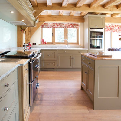 American Traditional Kitchen by Baker & Baker Bespoke Kitchens & Furniture