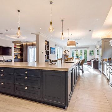 Handmade Classic Contemporary Kitchen