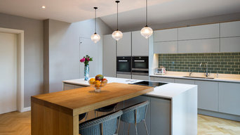 Handmade in Hitchin Bespoke Handleless Kitchen
