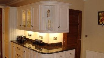 Handmade painted kitchens