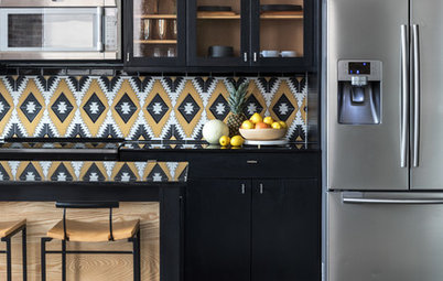 6 Ways to Amp Up Your Kitchen Style With Patterned Tile