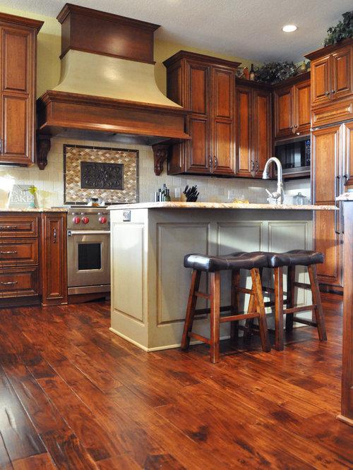 Acacia flooring kitchen design ideas renovations photos for Acacia kitchen cabinets