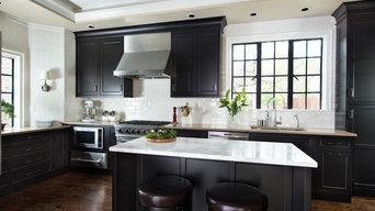Handsome Black Kitchen