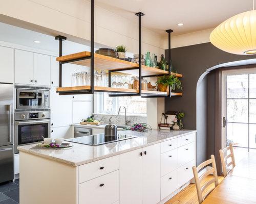 Hanging In Balance Kitchen Design