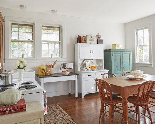 Foto e idee per cucine cucina in campagna con for Casa stile shaker