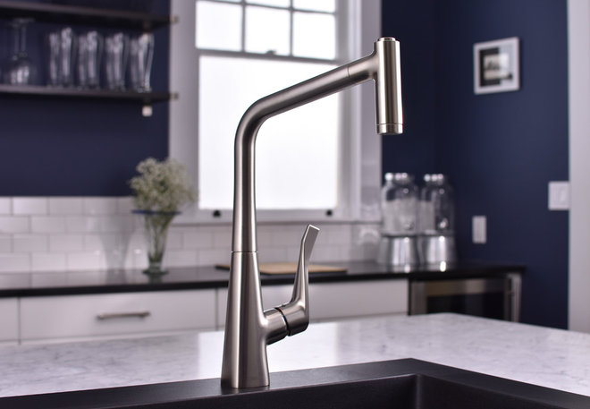 Modern Kitchen by Hansgrohe USA