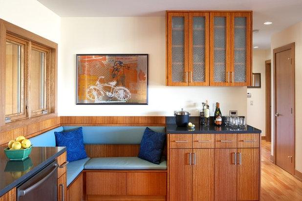 Modern Kitchen by Nguyen Architects, Inc.