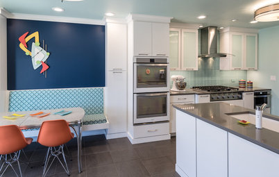 Kitchen of the Week: Fans of Traditional Style Go For a 'Mad Men' Look