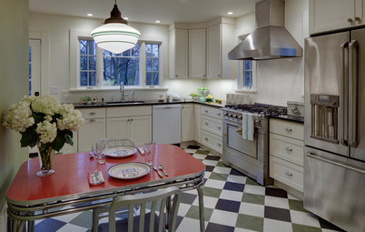 Room of the Day: Happy Retro Style for a Family Kitchen