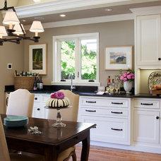 Traditional Kitchen by Kathleen Burke Design