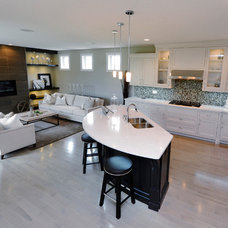 Traditional Kitchen by Woody's Custom Cabinetry