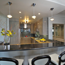 Contemporary Kitchen by Montgomery Roth Architecture & Interior Design