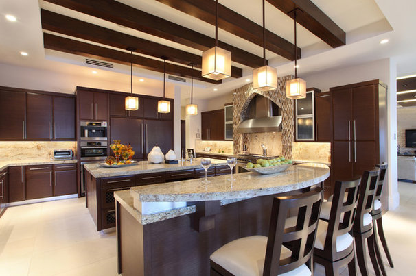 Contemporary Kitchen by W.A. Bentz Construction, Inc.