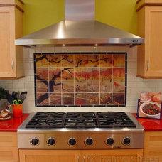 Asian Kitchen by Creative Kitchen & Bath
