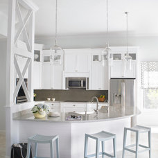 Transitional Kitchen by Krista Watterworth Design Studio