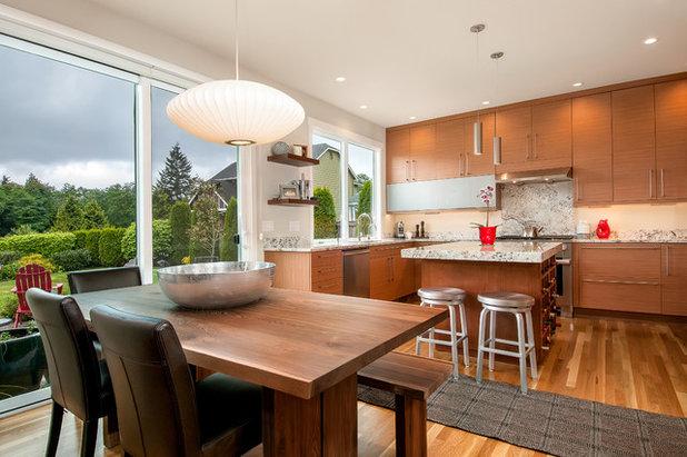 Contemporary Kitchen by WoodHart Interiors & Design, LLC