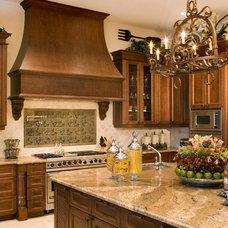 Mediterranean Kitchen by Gregory A. Jones Architecture