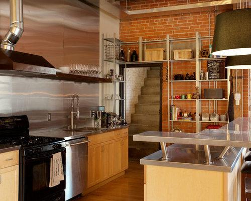 Restaurant Style Kitchen | Houzz
