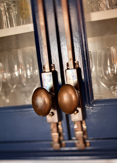 Eclectic Kitchen Hardware Detail