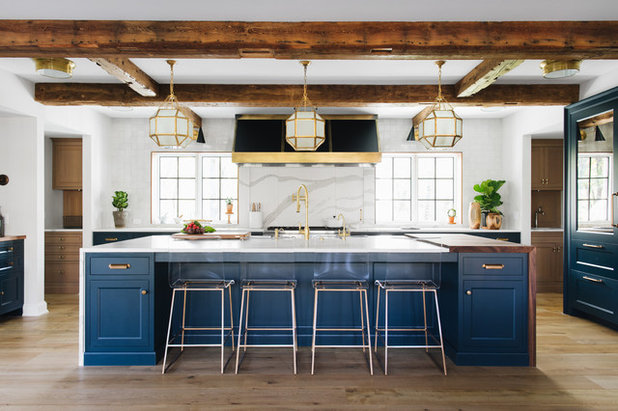 Transitional Kitchen by Century Floorspace