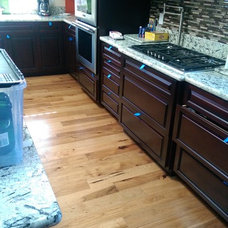 Traditional Kitchen by Precision Flooring