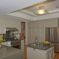 Contemporary Kitchen Hardy Group Builders