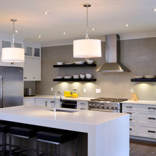 Contemporary Kitchen by Tanya Collins Design Inc.