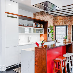 75 Beautiful Industrial Kitchen Pictures Ideas December 2020 Houzz