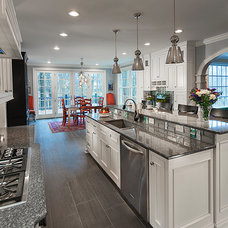 Traditional Kitchen by The Hale Construction Company LLC