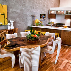 Eclectic Kitchen by Gallery Direct