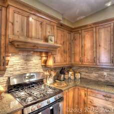 Rustic Kitchen by Brian Kendel Designs
