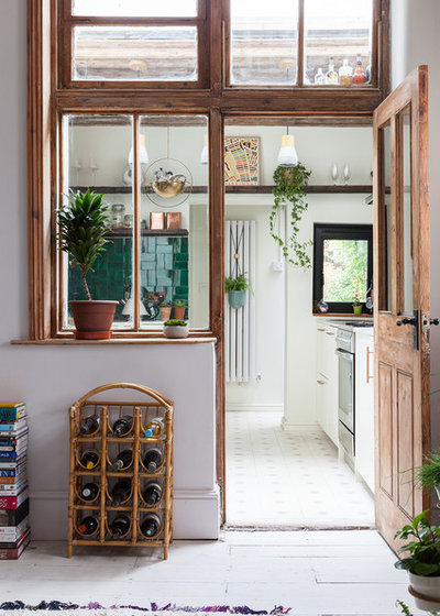Eclectic Kitchen by Emilie Fournet Interiors