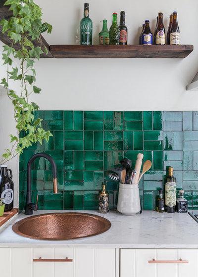 エクレクティック キッチン by Emilie Fournet Interiors