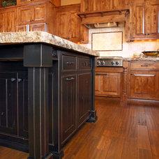 Rustic Kitchen by Wingren Design